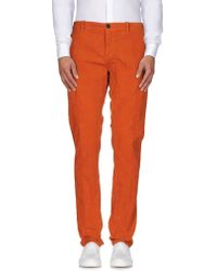 Paolo Pecora - Casual Pants - Lyst