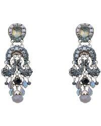 Ayala Bar Earrings - Blue