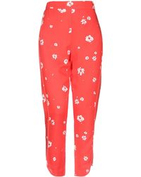 Obey Casual Trouser - Red