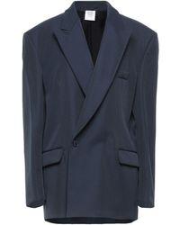 Vetements Suit Jacket - Blue