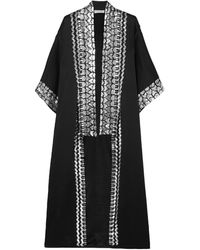 Temperley London Overcoat - Black