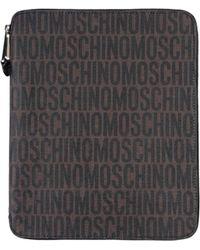 Moschino Document Holders - Brown