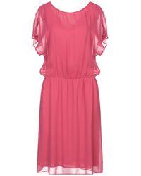 Caractere Midi Dress - Pink