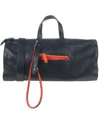 Santoni Travel & Duffel Bag - Blue