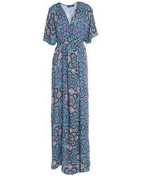 Trussardi Long Dress - Blue