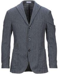 Boglioli Suit Jacket - Blue