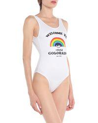 Chiara Ferragni One-piece Swimsuit - White