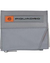 Piquadro Brieftasche - Grau