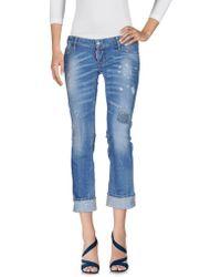 DSquared² Pantalon en jean - Bleu