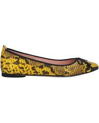 Unisa Ballet Flats - Yellow
