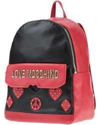 Love Moschino Rucksäcke & Bauchtaschen - Rot