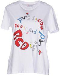 RED Valentino T-shirts - Weiß