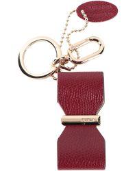 Furla Key Ring - Red
