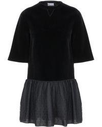RED Valentino Short Dress - Black