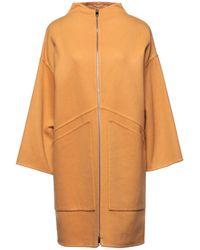 Les Copains Coat - Orange