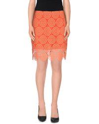 Related - Knee Length Skirt - Lyst