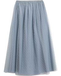 RED Valentino Falda larga - Azul