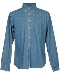 Orslow Camicia jeans - Blu