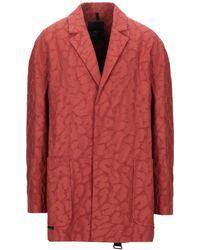 Tom Rebl Suit Jacket - Red