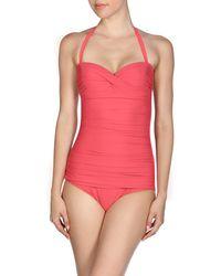 Heidi Klein One-piece Swimsuit - Red