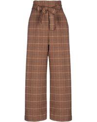 WEILI ZHENG Trousers - Brown