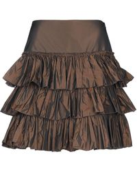 Blugirl Blumarine Knee Length Skirt - Brown