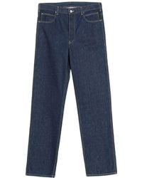 CALVIN KLEIN 205W39NYC Denim Trousers - Blue