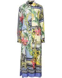 Clips 3/4 Length Dress - Multicolour