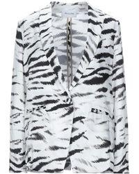 Aglini Suit Jacket - White