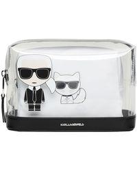 Karl Lagerfeld Trousse de toilette - Noir