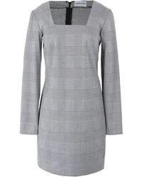 Au Jour Le Jour Short Dress - Grey