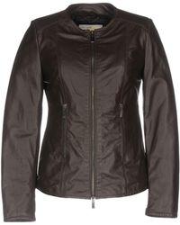 Vintage De Luxe Jacket - Brown
