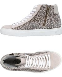 Quattrobarradodici - High-tops & Sneakers - Lyst
