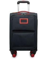 Lancel Wheeled Luggage - Blue