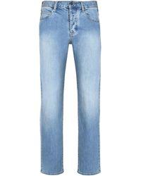 Armani Jeans Denim Trousers - Blue