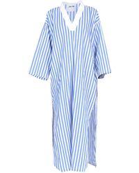 AVN Long Dress - Blue
