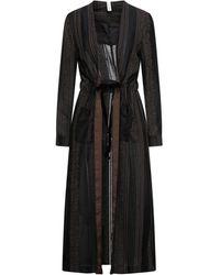 Souvenir Clubbing Overcoat - Black
