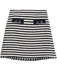 Marella Mini Skirt - White