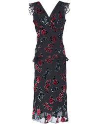 Anna Sui Knee-length Dress - Black
