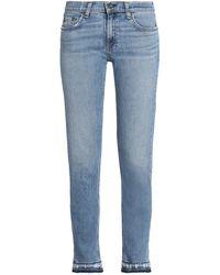 Rag & Bone - Pantaloni jeans - Lyst