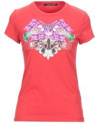 Roberto Cavalli T-shirt - Rosso