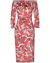 Mariagrazia Panizzi Knee-length Dress - Red