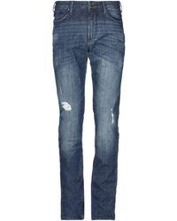 Armani Jeans Pantalon en jean - Bleu