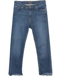 Donna Ida Denim Trousers - Blue