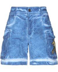 Just Cavalli Shorts & Bermudashorts - Blau