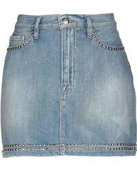 FRAME Jupe en jean - Bleu