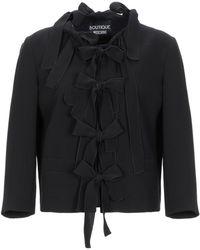 Boutique Moschino Suit Jacket - Black