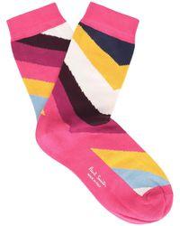 Paul Smith Short Socks - Pink