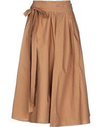 95b551f8f Roberto Collina - 3/4 Length Skirt - Lyst