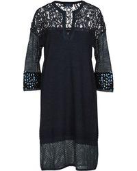 Twin Set Short Dress - Blue
